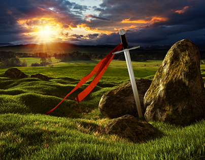 Sword in the Landscape