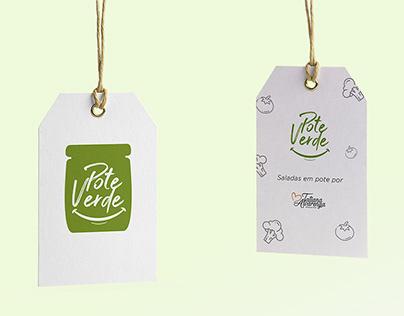 visual identity ✧ Pote Verde