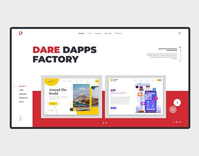 Dare dapps factory company web design