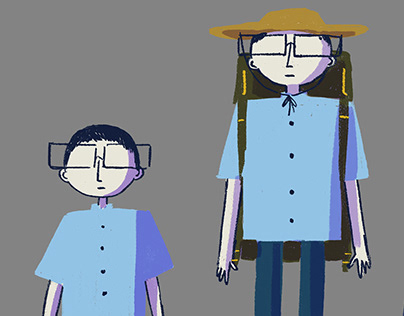 Character design ETHER WAVES