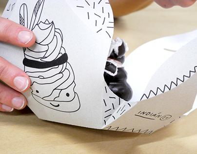 TEEPEE dessert packaging