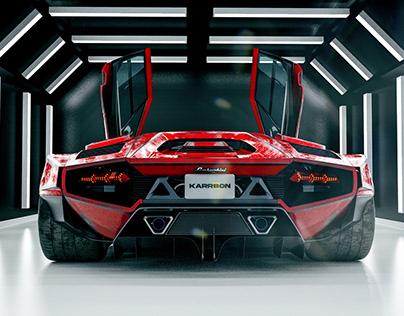 KARRBON SERIES 01 | Lamborghini Countach | CGI