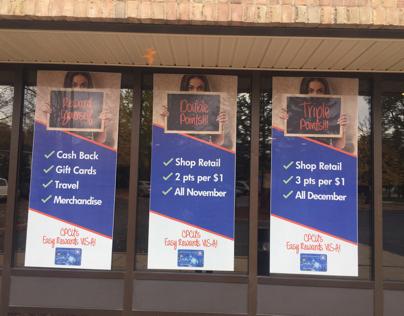 VISA Credit Card Marketing Campaign Materials