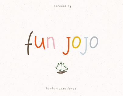 Fun JOJO Handwritten Font