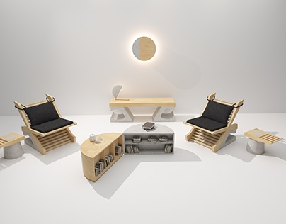 THE POTENTIAL OF NOTHING - Japanese style furniture