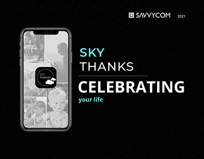 SkyThanks - Digital Time Capsules App