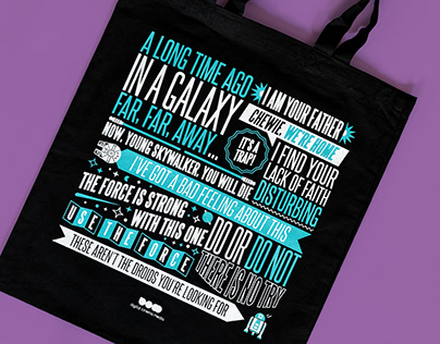 Movie Quote Totes / Digital Cinema Media