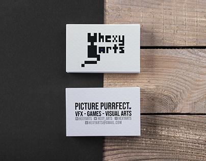 HexyArts - logo & business card design