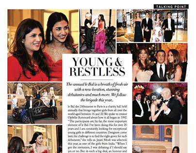 Young & restless   Harper's Bazaar Bride