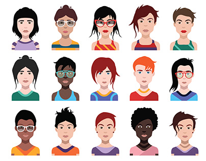New avatar icons