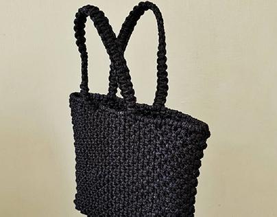 Macrame Tote Bag