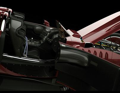 WIP : Sci-fi Race Vehicle