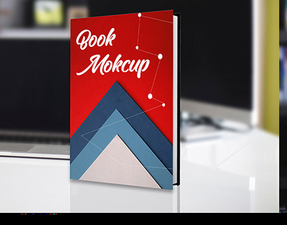 Hardcover Book Mockup PSD Download