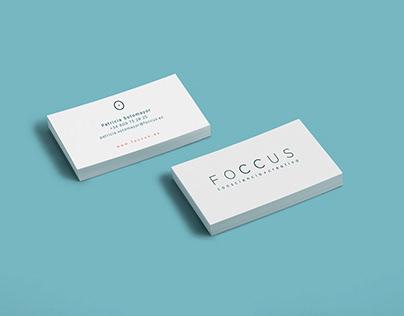 Diseño y restyling para la marca FOCCUS
