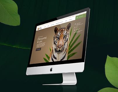 Granby Zoo Website Redesign