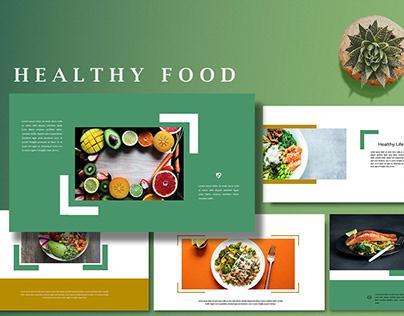 Healthy Food - Creative Keynote