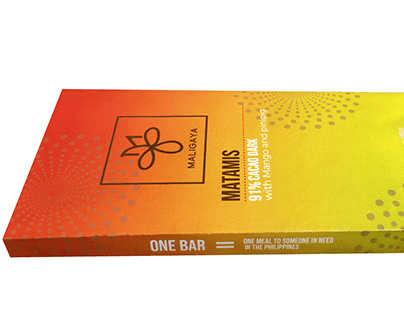 Maligaya Chocolate Bar Packaging Design