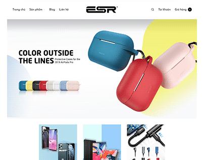 Ecommerce website ESR