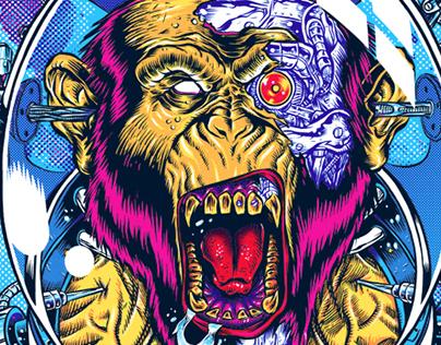 Space Ape illustration