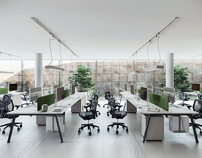 DOCKT Staff office system space