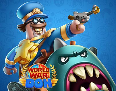 World War Doh Art