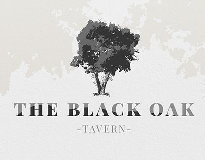 The Black Oak Tavern Logo