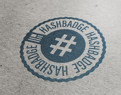 #Hashbadge Designs