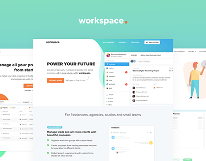 TapChief Workspace Landing Page