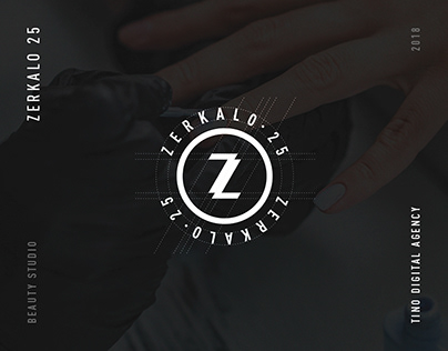 Zerkalo 25 — Brand Identity for Beauty Studio