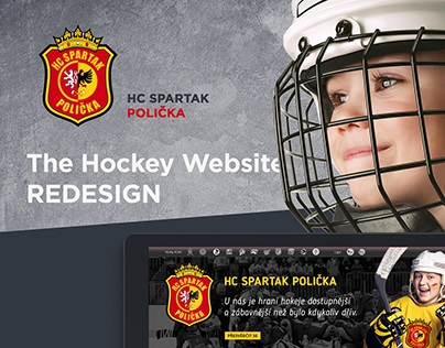 HC SPARTAK POLIČKA - Website Redesign