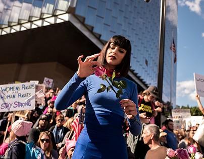 LA Women's March - 2017