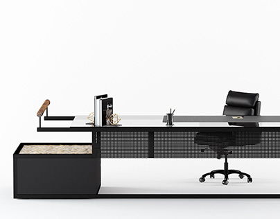 Black Ambient Office Final Project