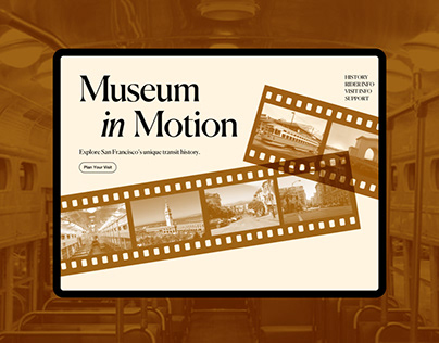 Museum in Motion - Website