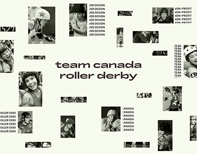 Canda Roller Derby Website Redesign