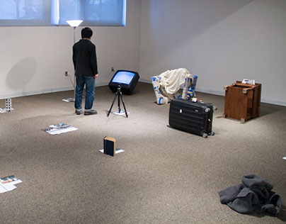 Experimental Installation with Dekuan Deng