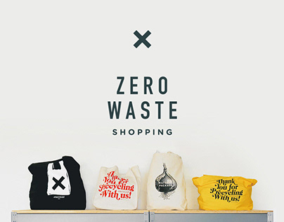 Branding Zero Waste Grocery Store Precycle