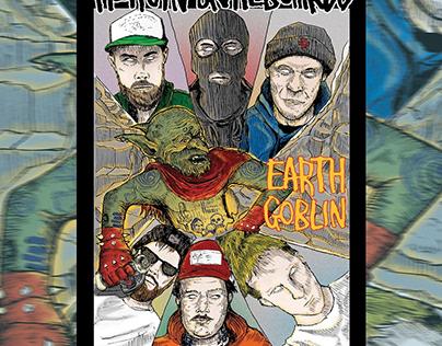 """Movie Poster For Heroin Skateboard """"Earth Goblin"""""""