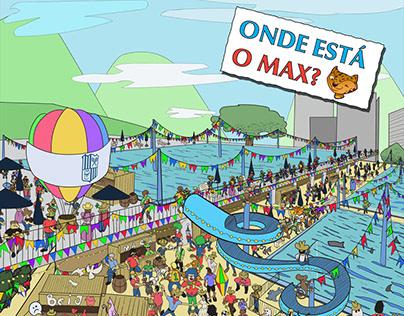 Minas Tênis Clube - Onde está o Max?