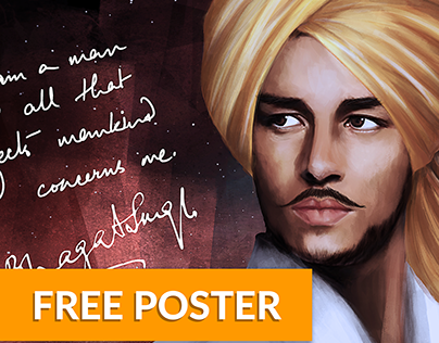 Shaheed Bhagat Singh | Free Poster