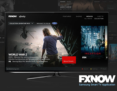 FXNOW Samsung Smart TV App