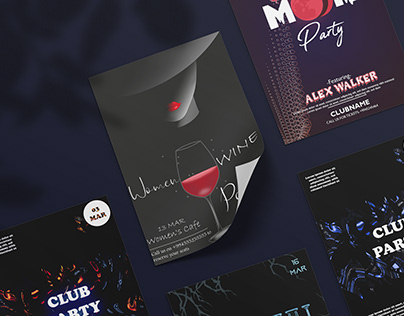 Party poster collection