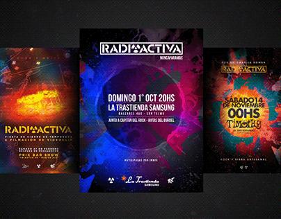 Radioactiva • Cover Art & Poster Design