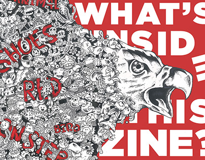 What's inside this zine? | Zine, Illustration, Doodle