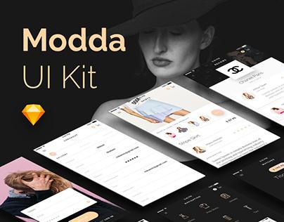 Modda - E-Commerce UI Kit