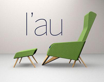 L'au – chaise lounge