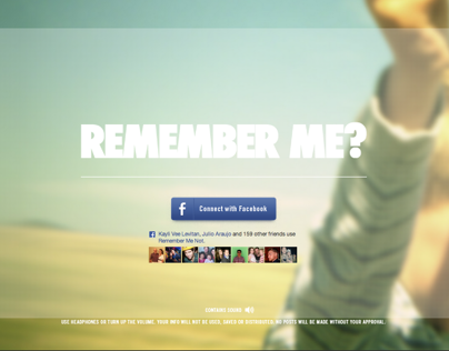 Remember Me Not // App // Dementia South Africa