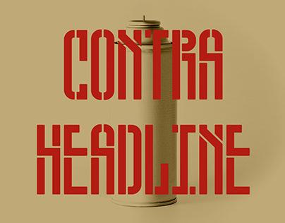 Contra Headline Typeface