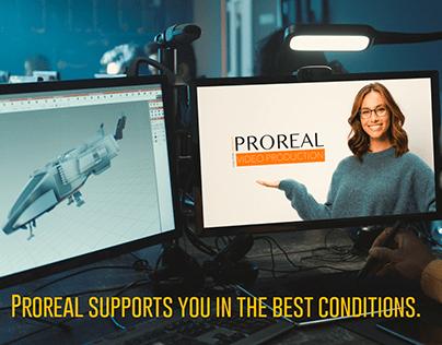 Publicité - Proreal vous accompagne face au Covid19