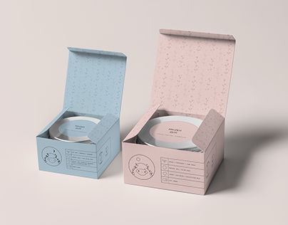 SHIZEN luxury natural cosmetics - package design