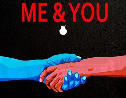 Design for the Stann Mith album, Me & You
